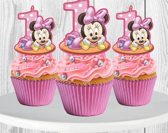 Minnie mouse cupcake | Etsy