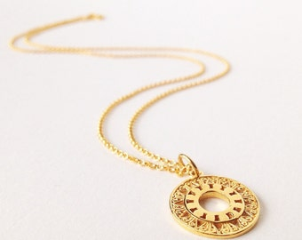 24 k vermeil necklace, necklace with gold, necklace with gold pendant, 925 sterling silver gold plated necklace