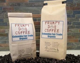 Columbia Fair Trade Organic Coffee, Roasted Coffee, Fair Trade Coffee, Organic Coffee, Fresh Roasted Coffee