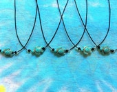 Turquoise Turtle Choker Necklace