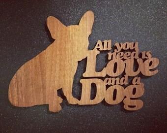 French Bulldog Dog Sayings Plaque