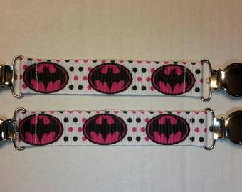 Batgirl Mitten Clips