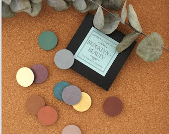 Customized Handmade All Natural Eyeshadow Palette (Choose Your Own Colors!)