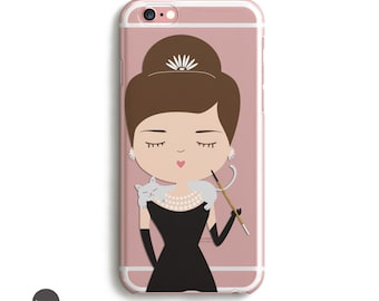 Audrey Hepburn, fundas iphone 7, fundas iphone 5s, funda iphone 6, fundas, funda movil //