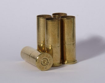 "5 x .38 Special ""Wadcutter"" Brass Bullet Casings"