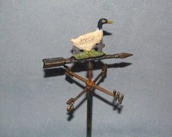 Weathervane - Duck Motif - Garden Decor