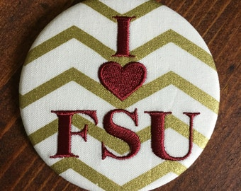 FSU- Game Day Button