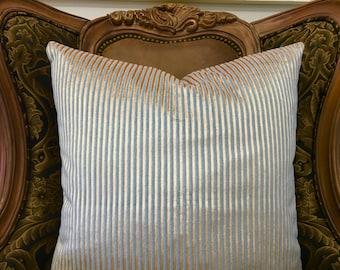 Turquoise Blue Velvet Pillow Cover 18X18, 20X20, Blue Pillow, Decorative Pillows, Blue Cushions, Velvet Pillow, Blue Velvet Pillow Covers