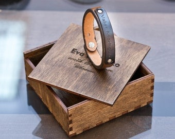jewelry bracelets bangles Personalized Mens womans Leather Bracelet Custom Bracelet gifts for him Engraved Leather Bracelet Bracelets