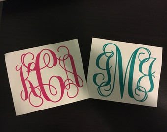Beautiful Interlocking Monogram
