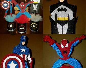 4 Marvel, Superhero, Spiderman, Batman, Captain America, all Character available, Comic book movies. message me to customize your order