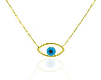 Evil Eye Necklace, Evil Eye, Evil Eye Jewelry