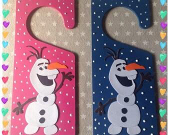 Disney Frozen Olaf Door Hanger