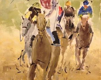 Horses at Gulfstream