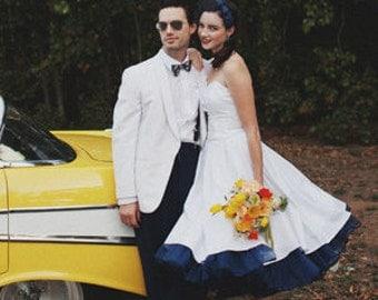 Super Full Petticoat with ribbon hem, pick a color, pick a length