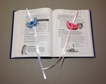 Crocheted Butterfly Bookmarks, Gift, Butterflys, Bookworm, Book Lovers, Stocking Stuffer