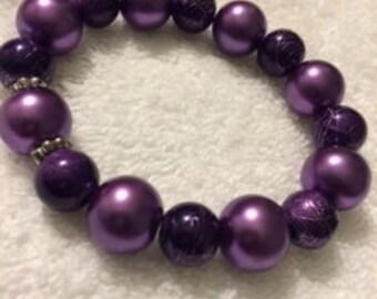 Glass Pearl Bracelets