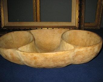vintage hand carved wooden bowlrustic wood wood bowlvintage dough