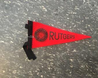 Vintage Rutgers Flag