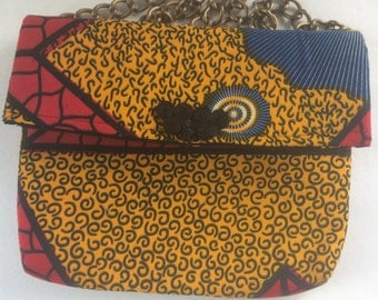 Ethnic Ankara Handmade Clutch Bag