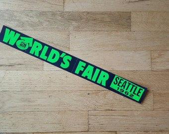 Seattle World's Fair bumper sticker