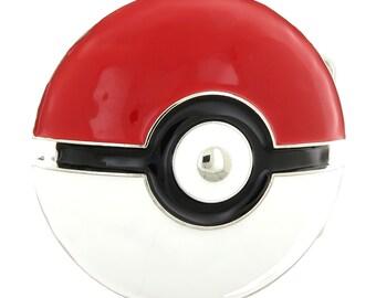 Pokemon Go Poke Ball Enamel Belt Buckle