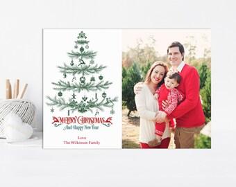 Printable Christmas Card, Printable Card, Printable Christmas, Holiday Card, Christmas Cards, Christmas Printable, Photo Card, Christmas