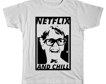 Netflix And Chill (with Squints) T-Shirt