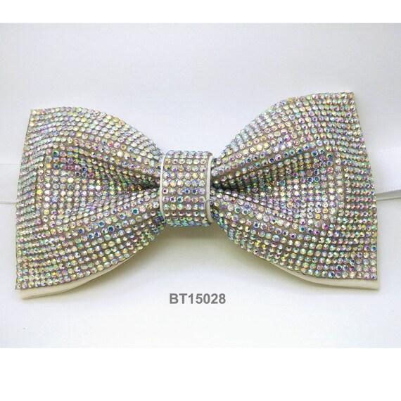 bow tie rhinestones bow tie colorful bow tie by ckbow
