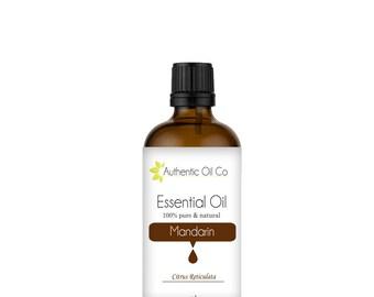 Mandarin Essential Oil 100% Pure 10ml 50ml 100ml