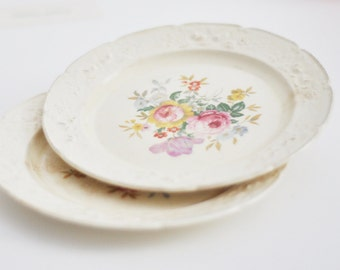 Distressed China, Homer Laughlin Ravenna Sandwich Plates