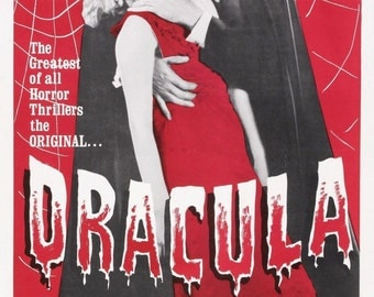 DRACULA Movie Poster 1931 Bela Lugosi Universal Monsters