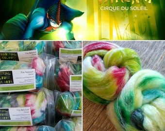 VAREKAI - Hand-dyed Spinning Fiber - 4 oz