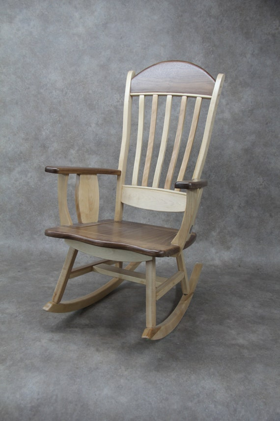 rocking chair contemporain line. Black Bedroom Furniture Sets. Home Design Ideas