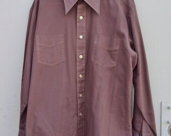 Vintage Penneys Long Sleeve Shirt Large