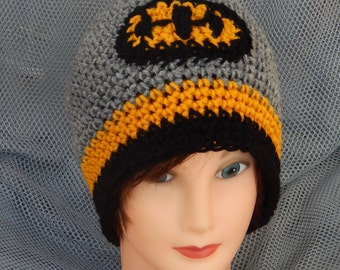 Sale! 15 dollars Batman Inspired Crochet Hat (ask for other sizes)