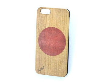 Flag OF Japan iPhone 7 case, iphone 6s case iphone 6 case iphone 5 case iphone 6s plus case iphone 6 plus case