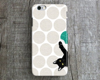 Sale 50% OFF, NAUGHTY CAT iPhone 6 Case. Polka Dot iPhone 6 Plus Case. Lovely iPhone 6 Case. Animal iPhone 6 Plus Case. Mint iPhone 6 Case.