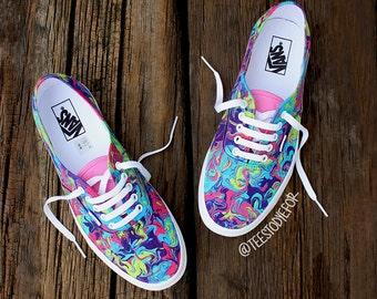 Boho Beauties Custom Vans