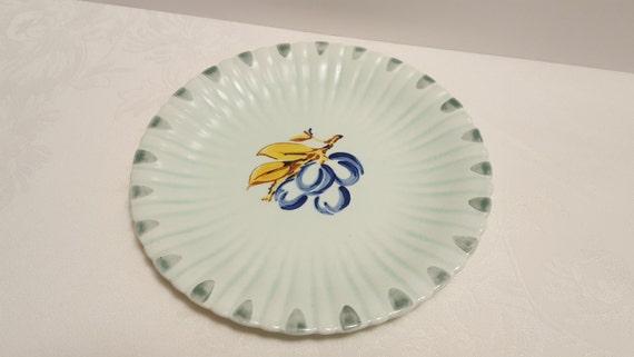 Stangl Plum 9'' Plate