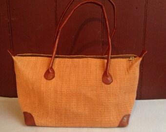 Burnt Orange Handbag