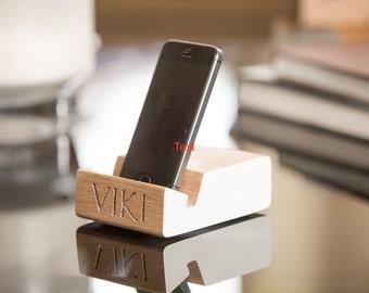 Personalised iPhone/Smart Phone Dock