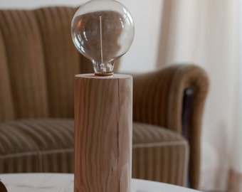 Lamp vintage globe bulb