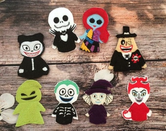 This is Halloween finger puppet set