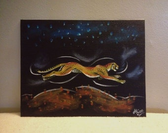 Midnight Run-- Original Painting