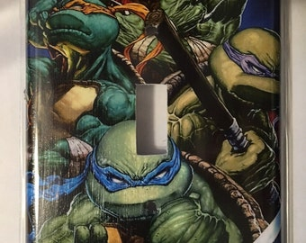 Tmnt single switch plate cover