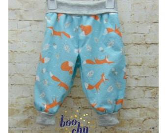 Foxy Grow-With-Me Harem Pants
