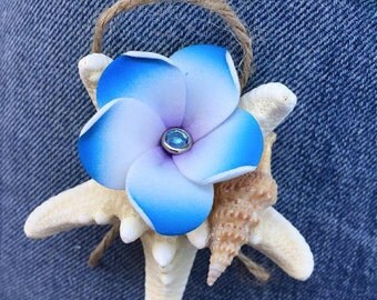 Beach Themed Wedding Boutonnière
