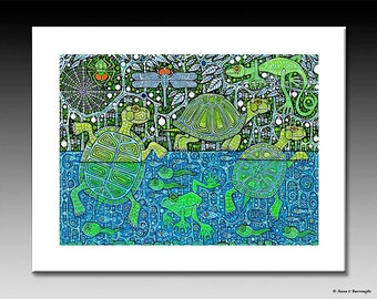 The Pond Giclee Print