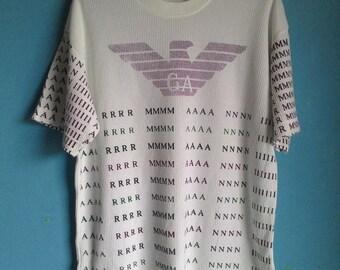 ON SALE 25% Vintage GA Giorgio Armani T-Shirt Large